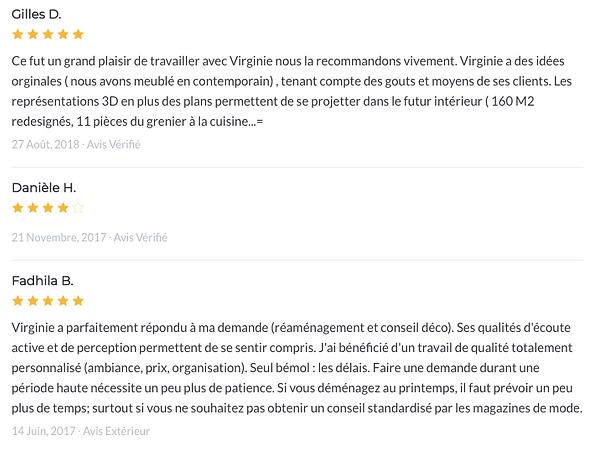 Avis Virginie HEISSAT