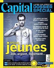 Décoratrice d'intérieur article dans la presse, Capiltal, dossier spécial