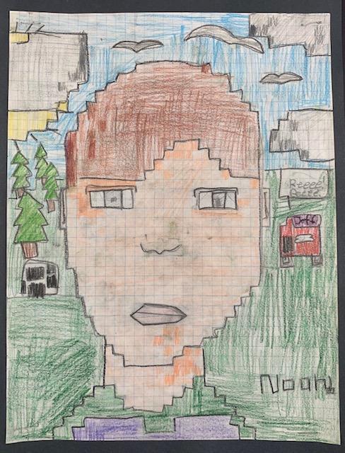 pixel portrait7