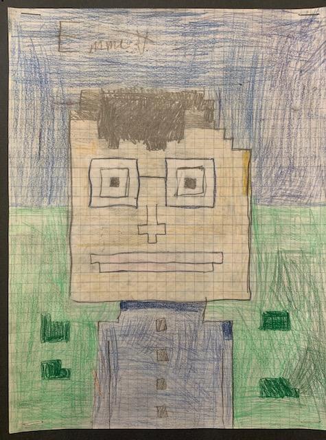pixel portrait23