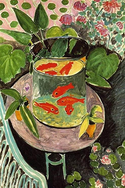 Matisse's The Goldfish