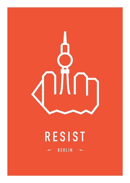 RESIST BERLIN 29,7x42cm (A3)
