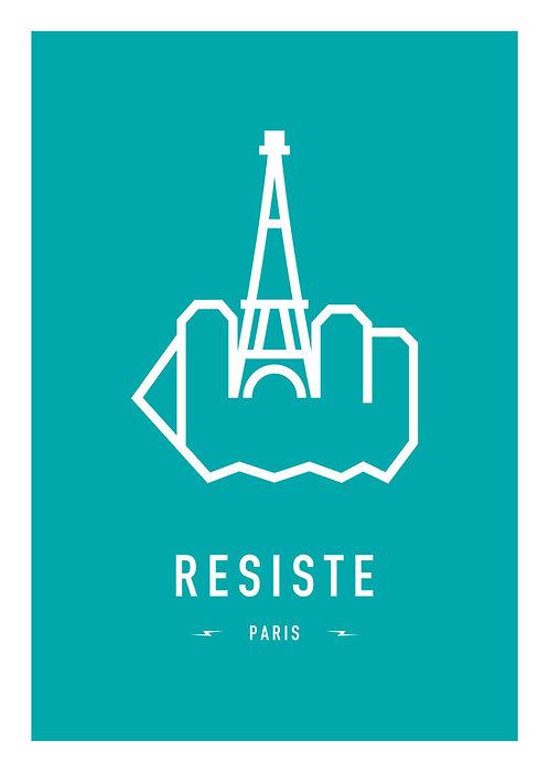 RESIST PARIS 29,7x42cm (A3)