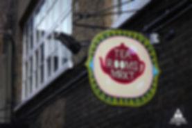THE TEA ROOMS MARKET Brick Lane London E1