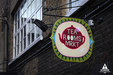 THE TEA ROOMS MARKET Brick Lane London E1