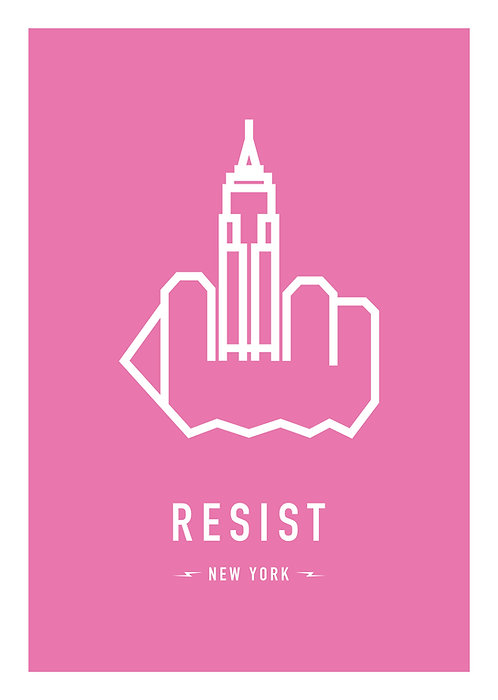 RESIST NEW YORK 29,7x42cm (A3)