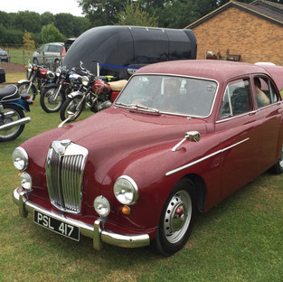 MG Magnette Dean and Shelton Flower Show