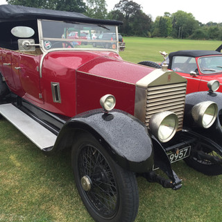 Rolls Royce Dean and Shelton flower show
