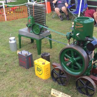 Stationary Engine Odd Wheel Club