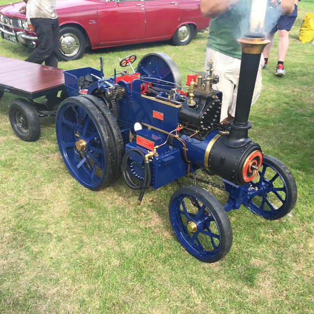 Scale Ploughing Engine