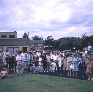 Dean and Shelton Flower show 1987 Crowd