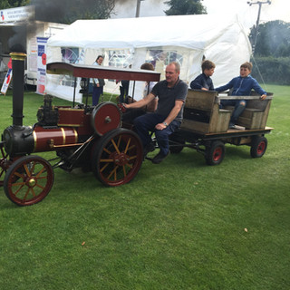Scale traction engine