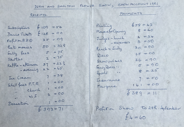 Accounts 1981