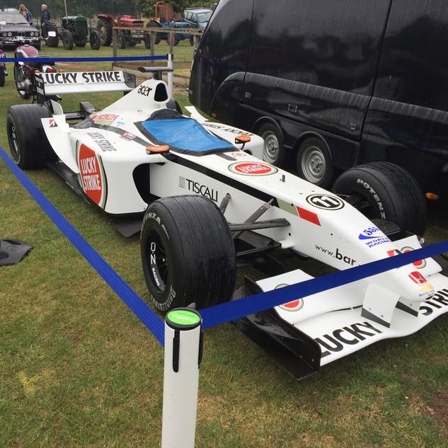 Ex Formula 1 Car Dean and Shelton Flower