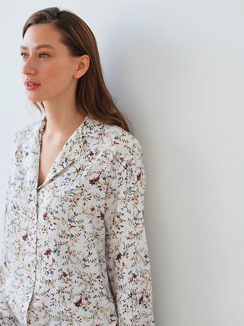 Пижамная рубашка Floral