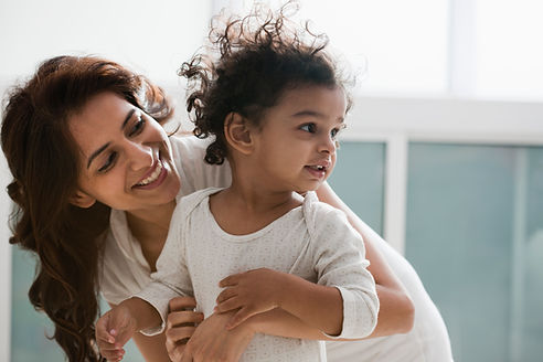 Mother and a Child, Toddler, Lulu's Lullaby Childcare