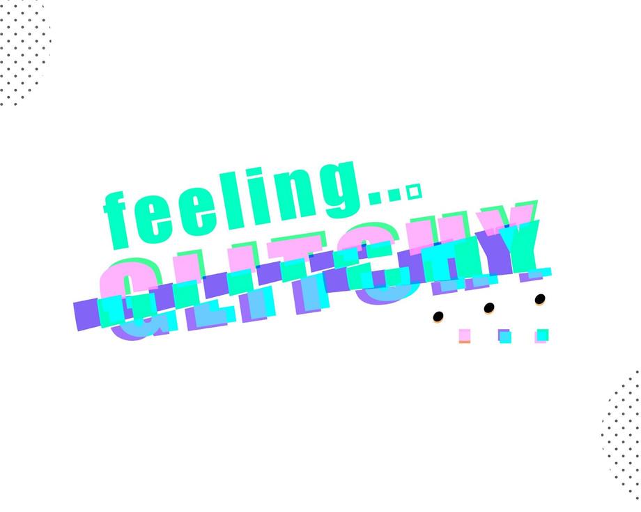 feeling glitchy Tee - © Hela Sharkas 2020