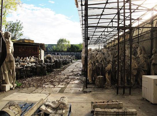 Deposito Cantiere marmisti del restauro del Duomo di Milano