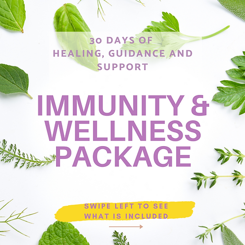 Immunity and Wellness Package