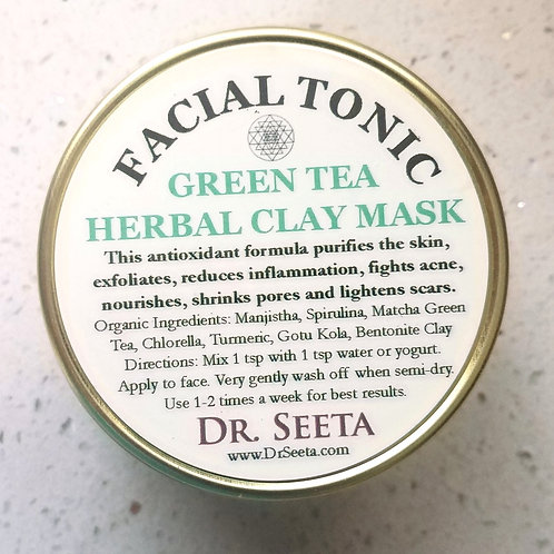 AYURVEDIC GREEN TEA MASK