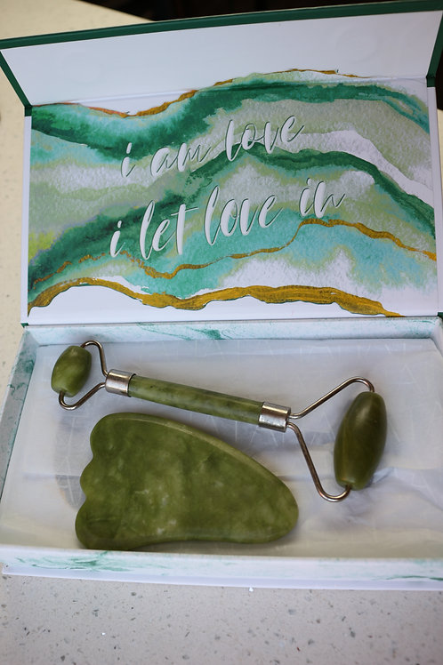 Jade Roller and Gua Sha Tool