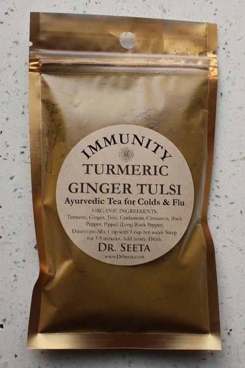 IMMUNITY BLEND: Turmeric-Ginger-Tulsi
