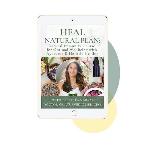 HEAL NATURAL PLAN: Natural Immunity Course