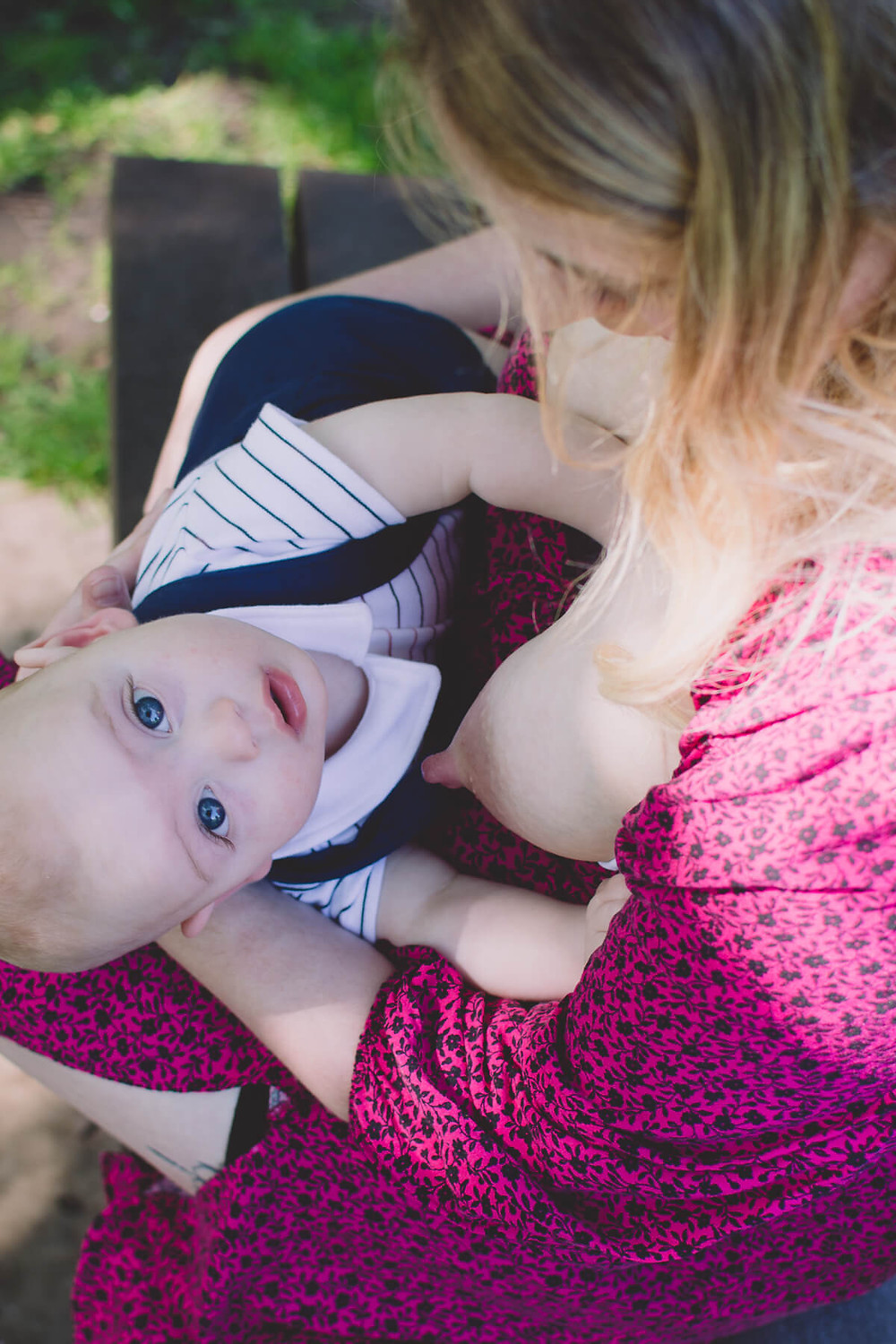 breastfeeding mother portrait close up baby south wales