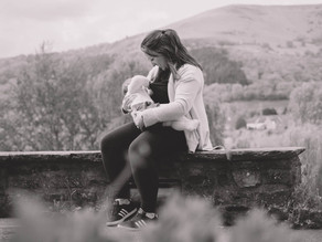 Motherhood Photography South Wales - Breastfeeding Pictures - Alice & Millie