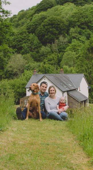 newborn photography south wales family w