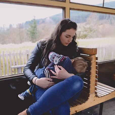 Mother Nurture, A Breastfeeding Portrait Project. South Wales.