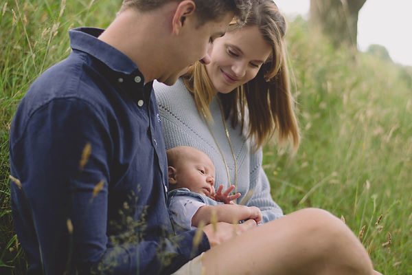 Lifestyle Newborn Session monmouth photo