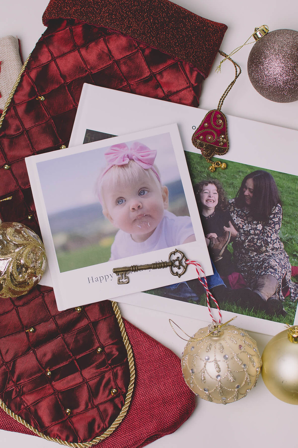 meaningful christmas gift photobook present decorations