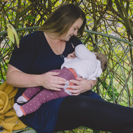 Motherhood Photography South Wales - Breastfeeding Photographer - Chenise & Imogen