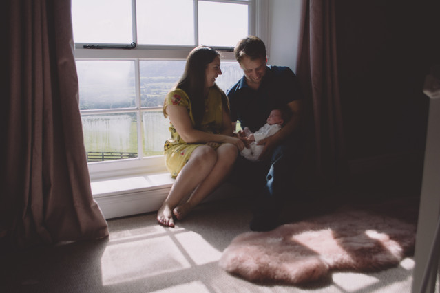 baby photography bristol parents hold ba