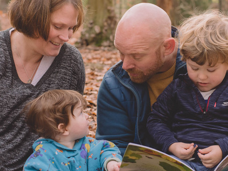 Family Photographer South Wales - Family Photoshoot - A Forest Session