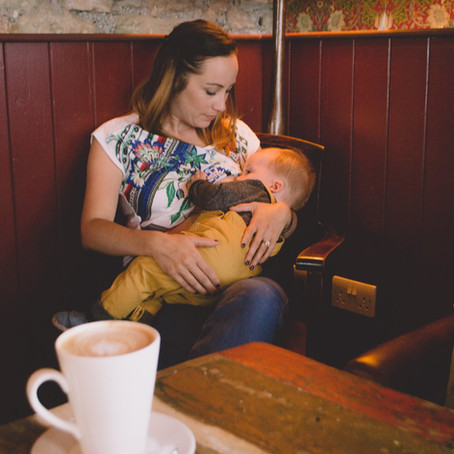 Breastfeeding Portrait, Monmouth, South Wales.