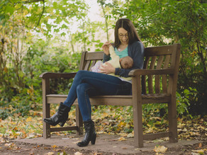 Motherhood Photography South Wales - Breastfeeding Photography - Katie & Mali