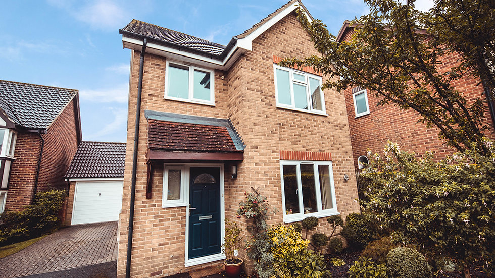 Detached 3 bedroom home in Uckfield