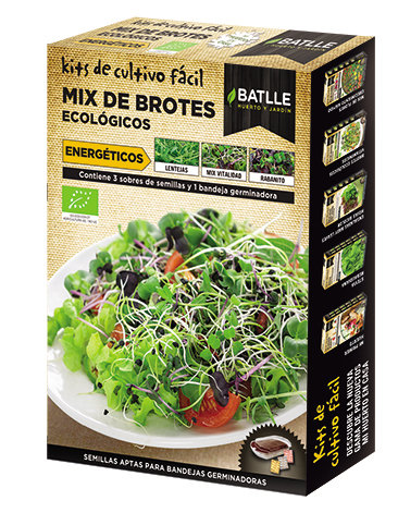 Organic Sprout Cultivation Kit