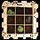 Thumbnail: Wooden square meter garden Esschert Design