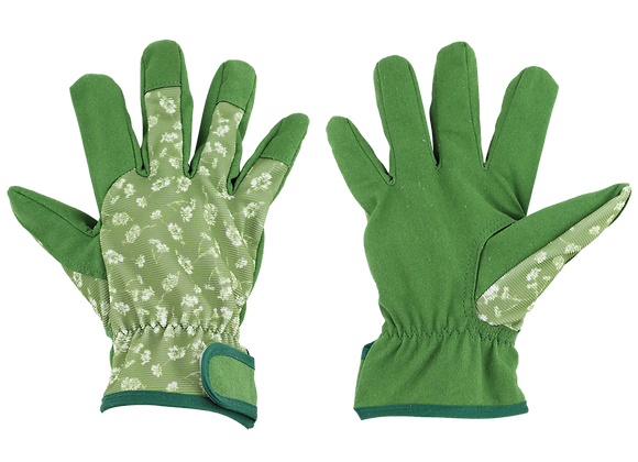 Esschert Design Garden workwear gloves patterned M