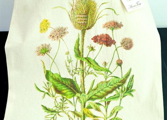 """CottonTote Bag """"plants"""""""