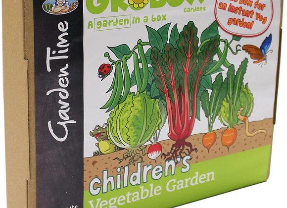GroBox Mr Fothergill's Childrens Vegetable Garden