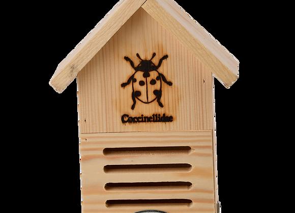 Ladybird house silhouette