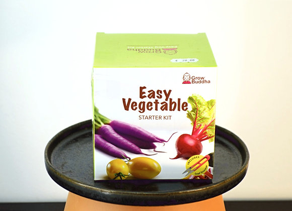 GROW YOUR OWN VEGETABLE SEEDS STARTER KIT
