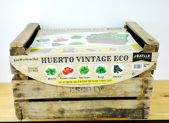 Vegetable Garden Box Vintage