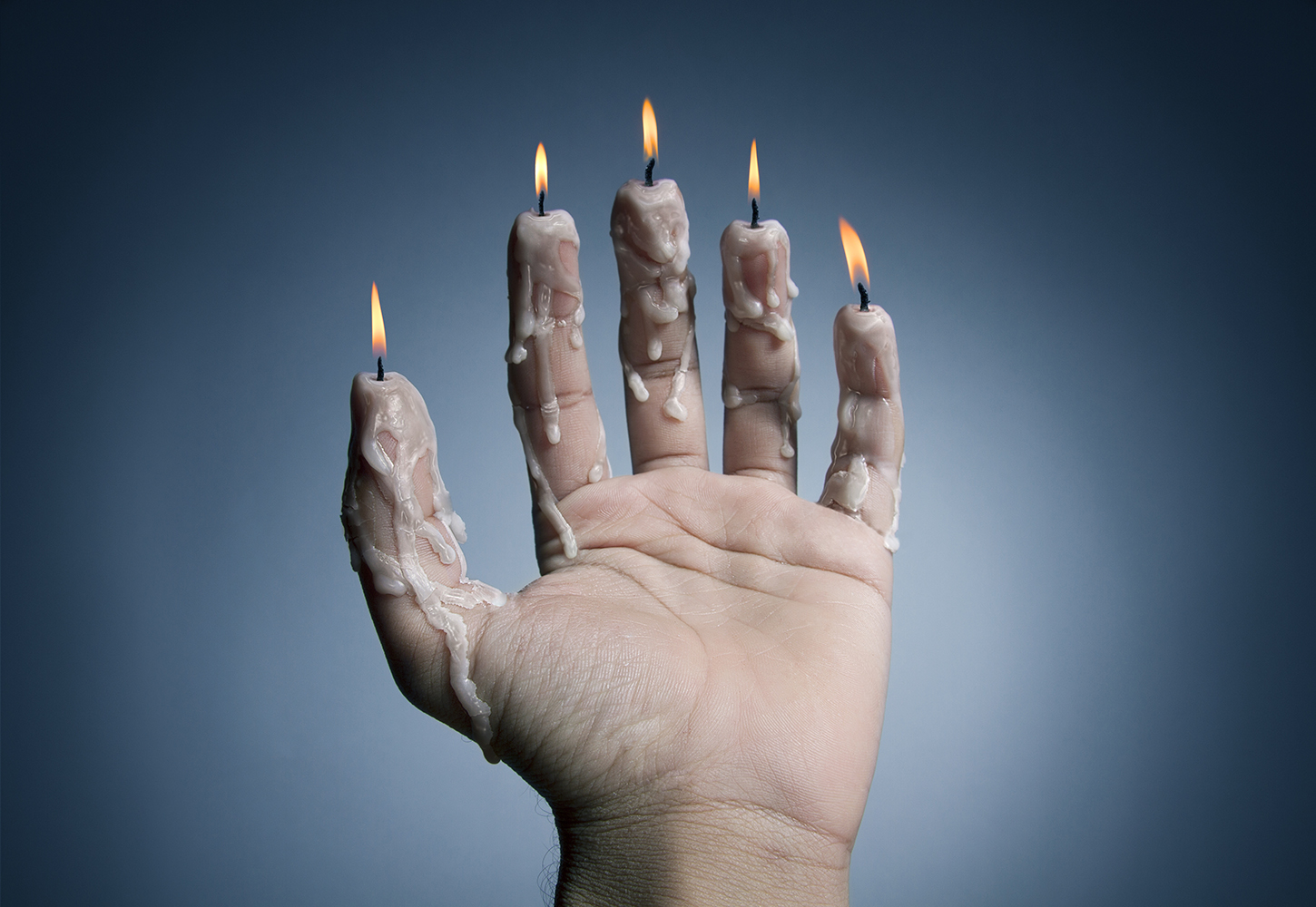 Candles Fingers