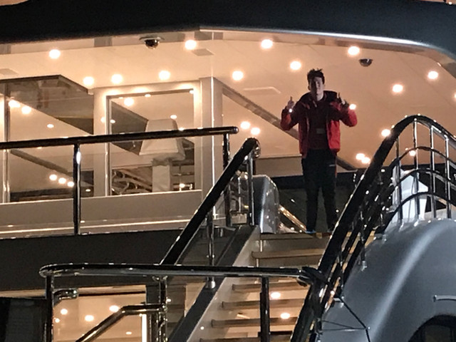 Feadship 80 Meter Dynalight refit