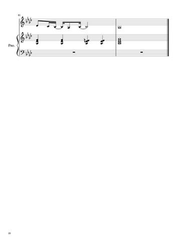 未知道琴譜-10